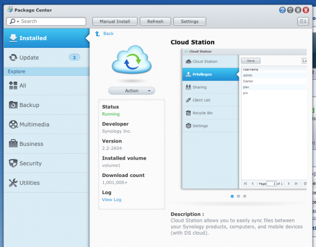 Synology offers a Dropbox substitute—meet the personal cloud