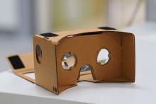 http://en.wikipedia.org/wiki/Google_Cardboard