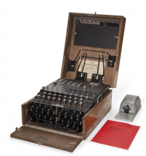 http://www.cnet.com/news/be-a-code-breaker-enigma-machines-up-for-auction/#ftag=CAD590a51e